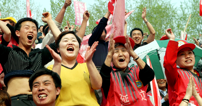 延边足球曾带给球迷巨大欢乐