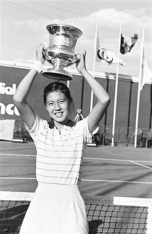 17岁的胡娜获得白宫杯冠军