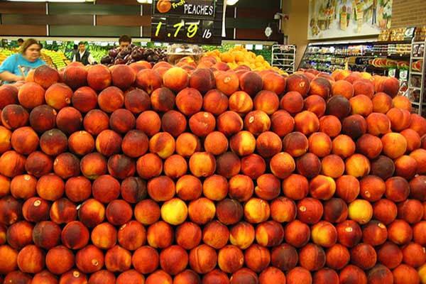 在美国,很多食品也未经消费就浪费掉了