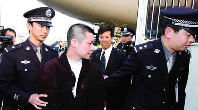 余振东遣返回中国后,被判处12年有期徒刑