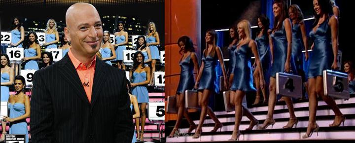 《Deal or no Deal》是一个有奖闯关节目,美女拿的盒子里全都是钱。
