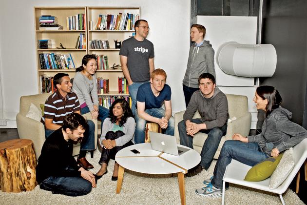 2012年,Stripe团队即受到彭博商业周刊关注和报道