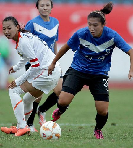 2013全运会,辽宁女足1-0战胜北京女足