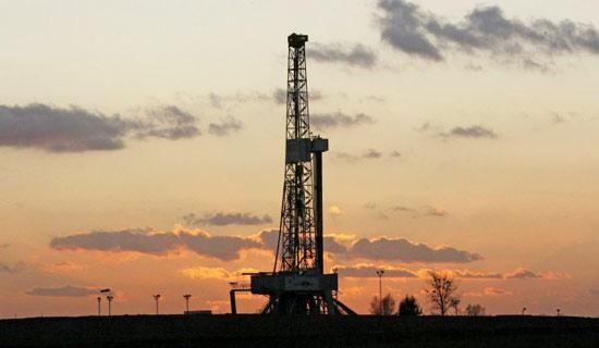 美国雪佛龙公司位于波兰的一处页岩气开采平台