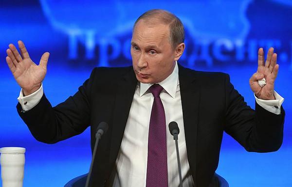 普京在年度记者招待会上声称要增加军费