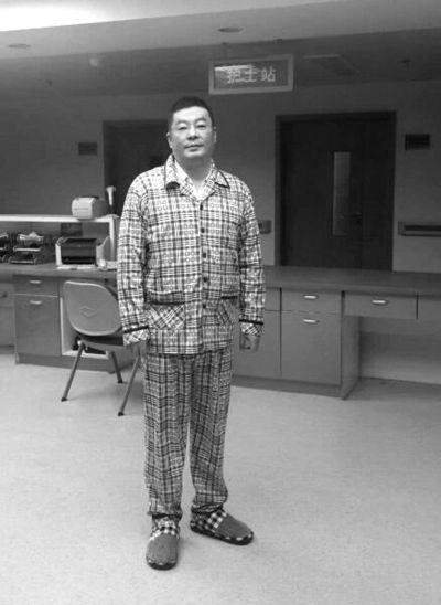 已取保候审的陆勇目前正在医院治疗。