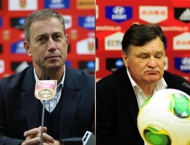 曾雪麟对卡马乔很不满意,希望佩兰执教的国足在亚洲杯上交出满意的答卷