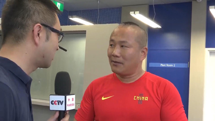赵旭东接受中央电视台采访
