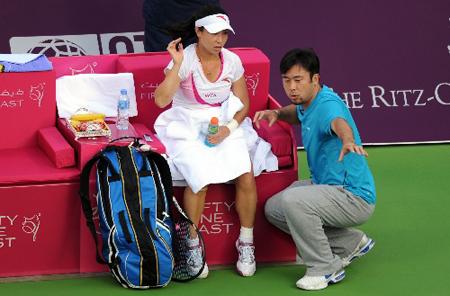 张宇既是郑洁的丈夫,也是她的教练