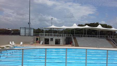 孙杨训练的泳池