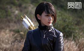 """潘之琳被称为""""抗日女神"""""""