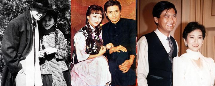 赵雅芝和周润发合作多次,但戏外两人并不来电。