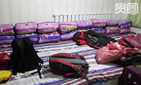 旅行社为散客安排的大炕,十人拼一间房