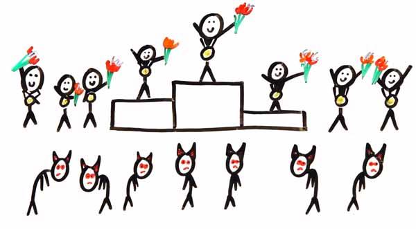"""在""""重复囚徒困境""""实验中,善意策略得分比恶意策略要高"""