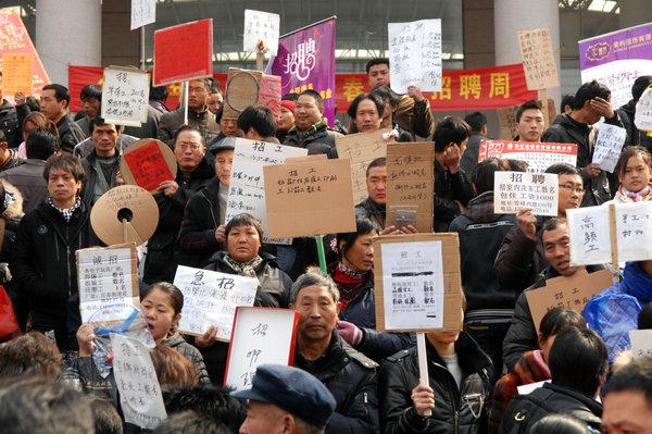 中国制造面临用工荒和增速缓双重考验