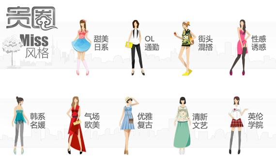 网店受欢迎的几种穿衣风格,模特价格也会相应高一些
