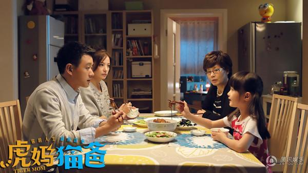 电视剧《虎妈猫爸》中,潘虹饰演的奶奶对孙女采取溺爱、包办一切的公主教育