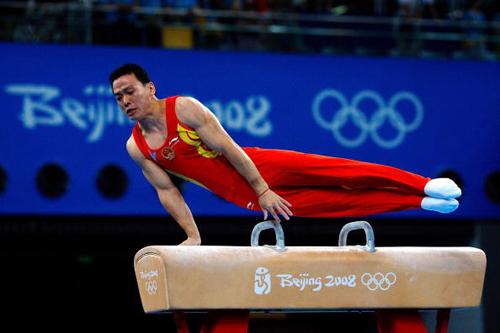 黄旭是北京奥运会中国体操男团冠军成员