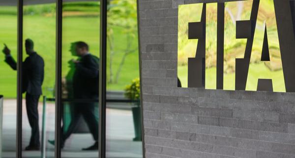 苏黎世国际足联总部,部分涉案官员被带走