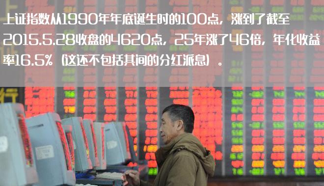 中国股市的长期成绩单,其实好于想象