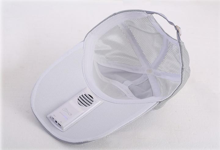 降温防暑风扇帽
