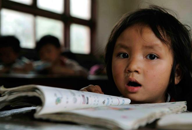 人们把教育公平说了千百遍,却甚少提及从源头的补偿,这一课,得补(图片/贵阳晚报摄影记者 彭年)