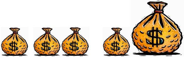 """工资收入的""""偏态分布""""让绝大多数人""""被平均"""""""