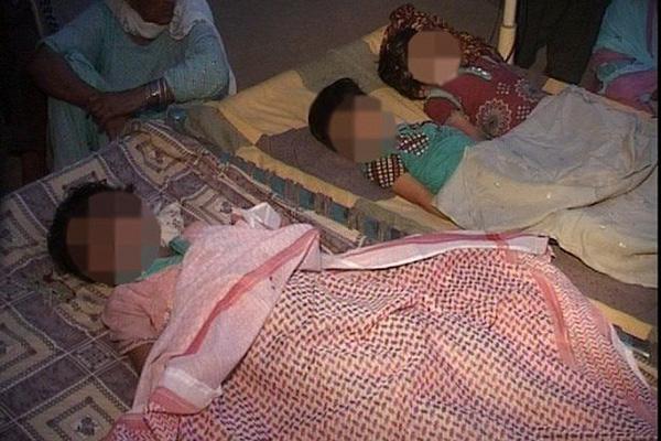 巴基斯坦一位父亲亲手杀死三个女儿