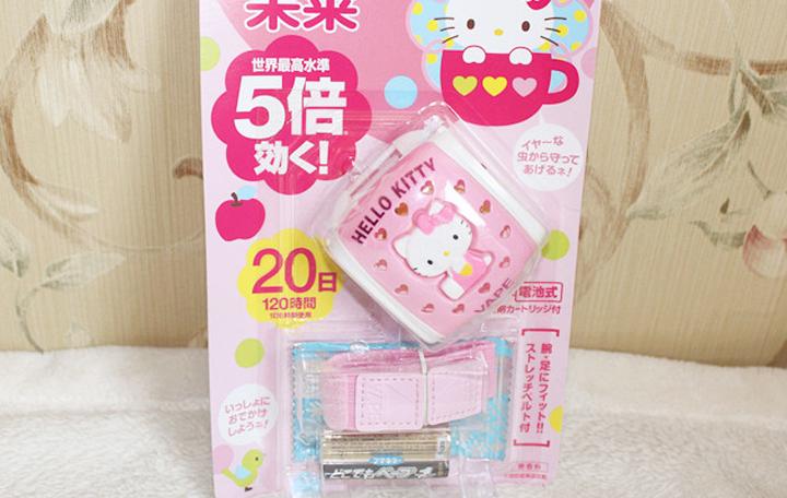 药物驱蚊-VAPE电子驱蚊手表Hello Kitty版
