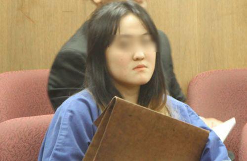 翟某在法庭表现非常不好