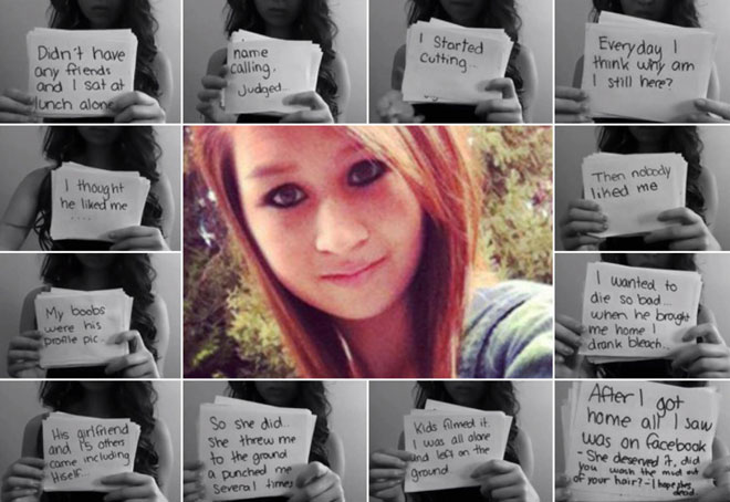 加拿大安大略省一名15岁少女因不堪欺凌自杀,引发全社会震惊,政府、学界乃至公共人物都纷纷行动起来