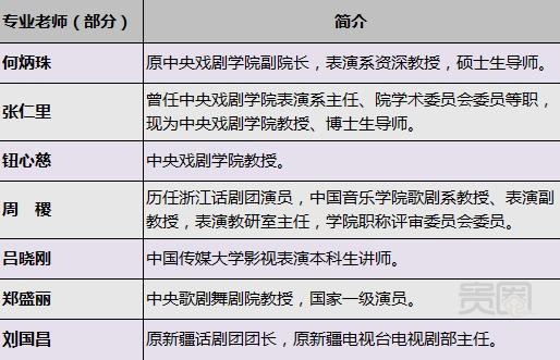 吕丽萍的北京群星表演艺术学校的部分教师队伍