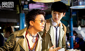 刘昊然第二部电影就跟王宝强并列演男一号