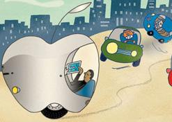 互联网造车太火热 让我们猜猜苹果iCar