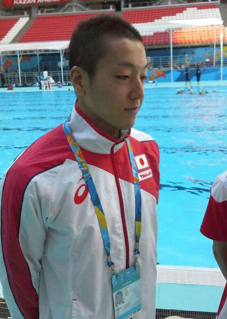 32岁的日本花游运动员安部笃史仍未婚