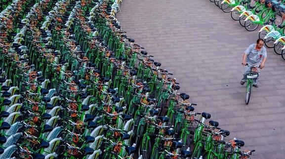 """城市公共自行车,这几年在中国有一个""""大跃进"""""""