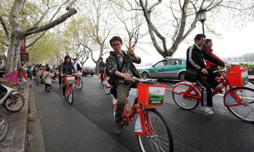 杭州的公共自行车运行情况,向来受到好评