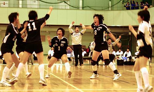 日本排球青少年培养