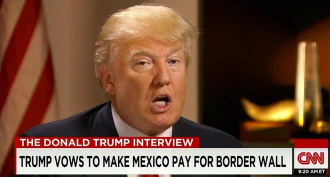 反对移民、提倡美国墨西哥边境修墙的特朗普,成为下届美国总统热门候选人