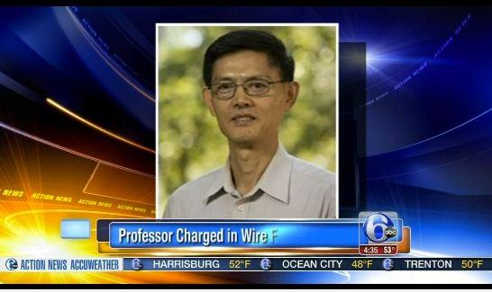 被逮捕然后又被撤销指控的天普大学物理系主任、华裔教授郗小星
