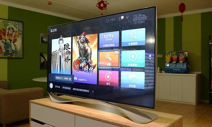 乐视第三代电视新品X55 Pro