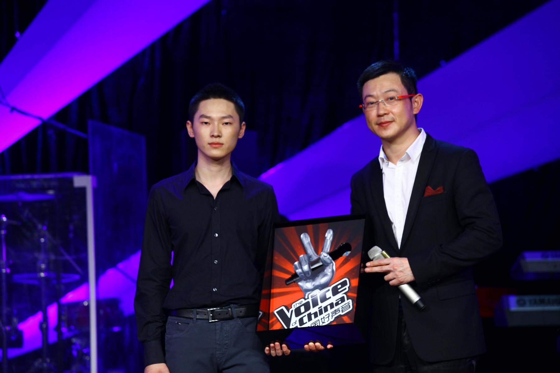 田明与好声音第一季总冠军梁博