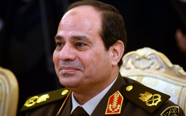 埃及总统塞西,重新变为军人执政表明埃及革命的失败