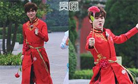 鹿晗是EXO归国四人中最晚投入真人秀的