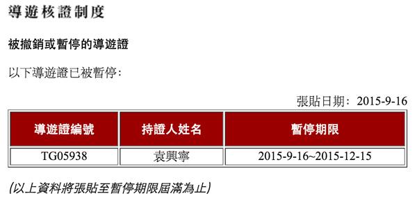 香港近7000名注册导游,只有一位牌照有问题