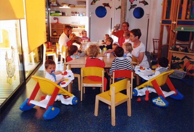 法国有非常好的公共育儿设施