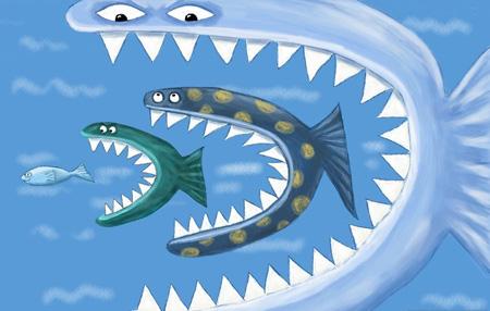 即使大鱼吃了小鱼,也不代表能一统江湖