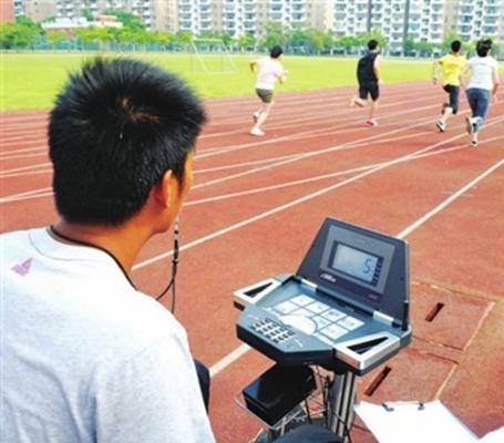 体测的长跑项目并不是一项高负荷、大强度、长距离的运动