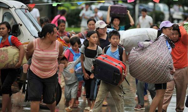 果敢冲突期间,进入中国的果敢难民