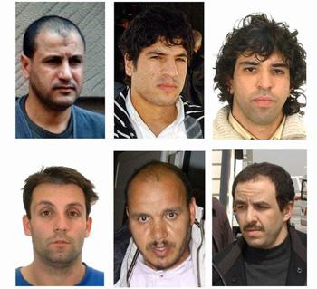 2004年马德里恐怖袭击的几位主谋,他们多数是在欧洲出生的